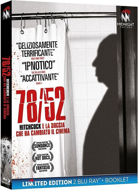 78/52. Hitchcock e la doccia che ha cambiato il cinema. Limited edition con Booklet (2 Blu-ray) di Alexandre O. Philippe - Blu-ray