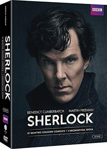 Sherlock. Definitive Edition. Stagioni 1 - 4 + L'abominevole sposa (10 DVD) di Paul McGuigan,Euros Lyn,Toby Haynes - DVD