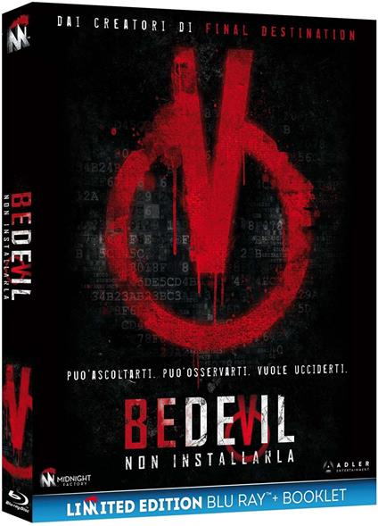 Bedevil. Non installarla. Limited Edition con Booklet (Blu-ray) di Abel Vang,Burlee Vang - Blu-ray
