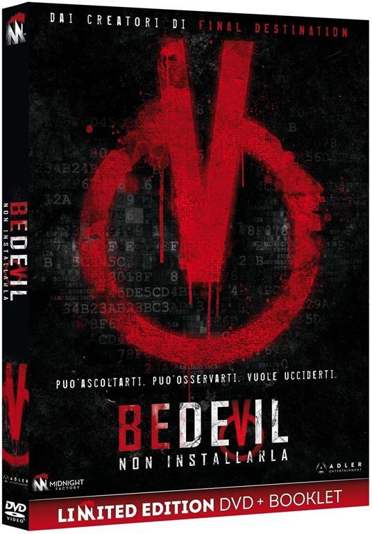 Bedevil. Non installarla. Limited Edition con Booklet (DVD) di Abel Vang,Burlee Vang - DVD