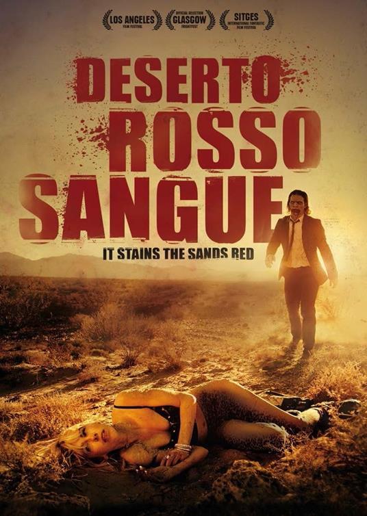 Deserto rosso sangue. Edizione limitata (Blu-ray) di Colin Minihan - Blu-ray - 2