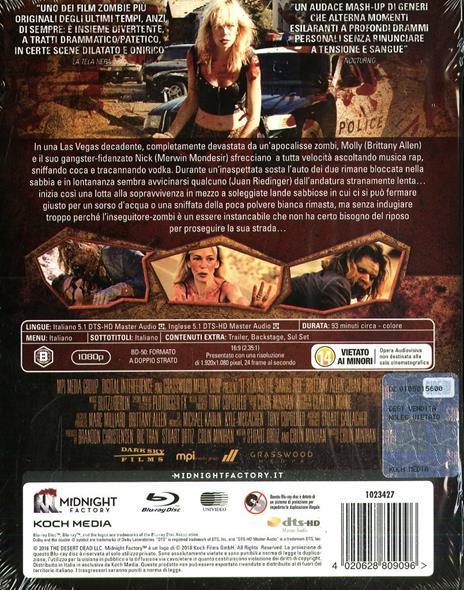 Deserto rosso sangue. Edizione limitata (Blu-ray) di Colin Minihan - Blu-ray - 3