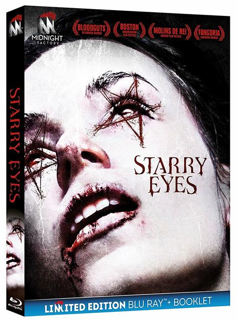 Starry Eyes. Limited Edition con Booklet (Blu-ray) di Kevin Kolsch,Dennis Widmyer - Blu-ray