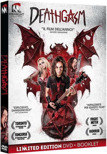 Deathgasm. Limited Edition con Booklet (DVD) di Jason Lei Howden - DVD