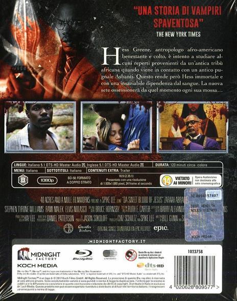 Il sangue di Cristo. Da Sweet Blood of Jesus. Limited Edition con Booklet (Blu-ray) di Spike Lee - Blu-ray - 2