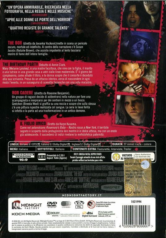 XX. Donne da morire. Limited Edition con Booklet (DVD) di Roxanne Benjamin,Karyn Kusama,St. Vincent,Jovanka Vuckovic - DVD - 2