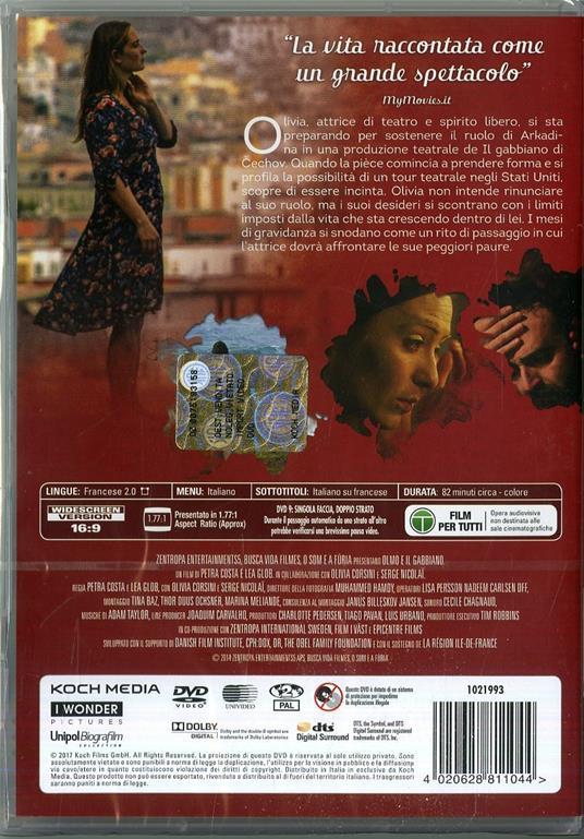 Olmo e il gabbiano (DVD) di Petra Costa,Lea Glob - DVD - 2