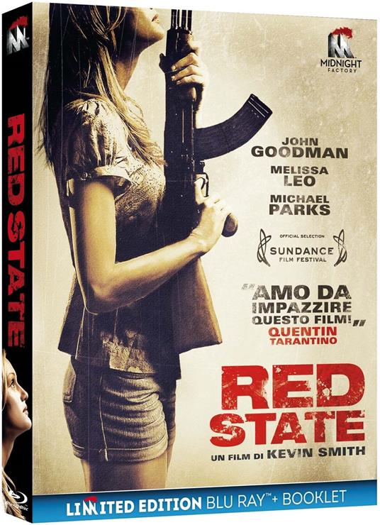Red State. Limited Edition con Booklet (Blu-ray) di Kevin Smith - Blu-ray