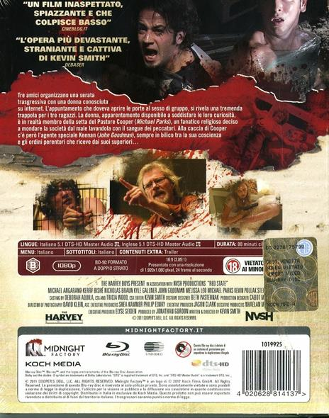 Red State. Limited Edition con Booklet (Blu-ray) di Kevin Smith - Blu-ray - 2