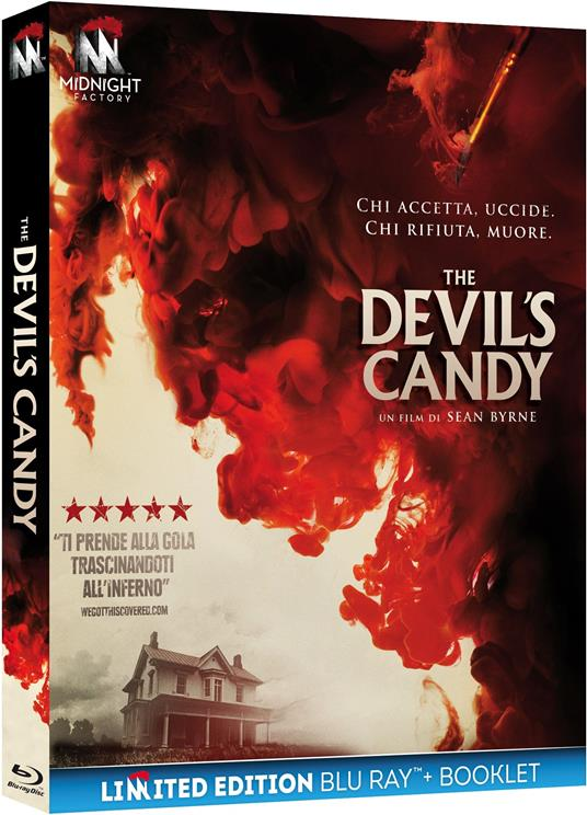 The Devil's Candy. Limited Edition con Booklet (Blu-ray) di Sean Byrne - Blu-ray