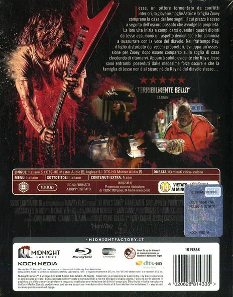 The Devil's Candy. Limited Edition con Booklet (Blu-ray) di Sean Byrne - Blu-ray - 2