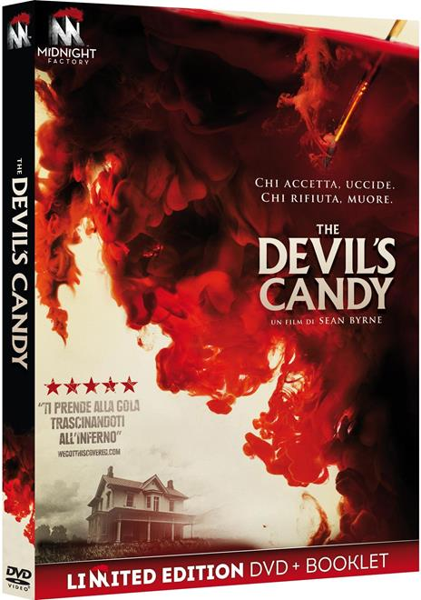 The Devil's Candy. Limited Edition con Booklet (DVD) di Sean Byrne - DVD