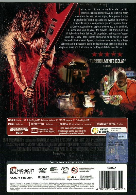 The Devil's Candy. Limited Edition con Booklet (DVD) di Sean Byrne - DVD - 2