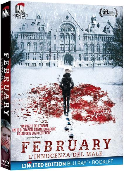 February. L'innocenza del male. Limited Edition con Booklet (Blu-ray) di Oz Perkins - Blu-ray