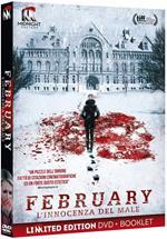 February. L'innocenza del male. Limited Edition con Booklet (DVD)