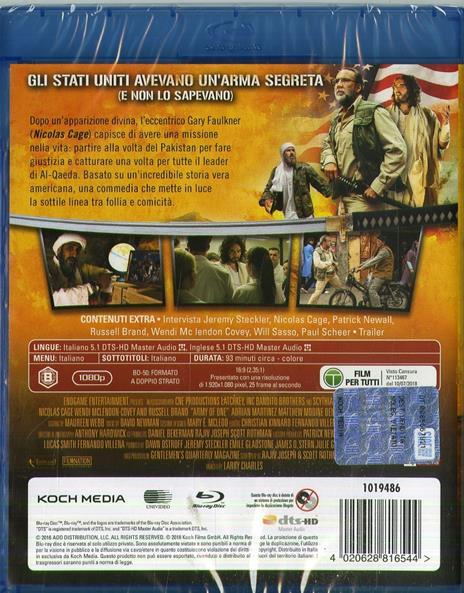 Io, Dio e Bin Laden (Blu-ray) di Larry Charles - Blu-ray - 2