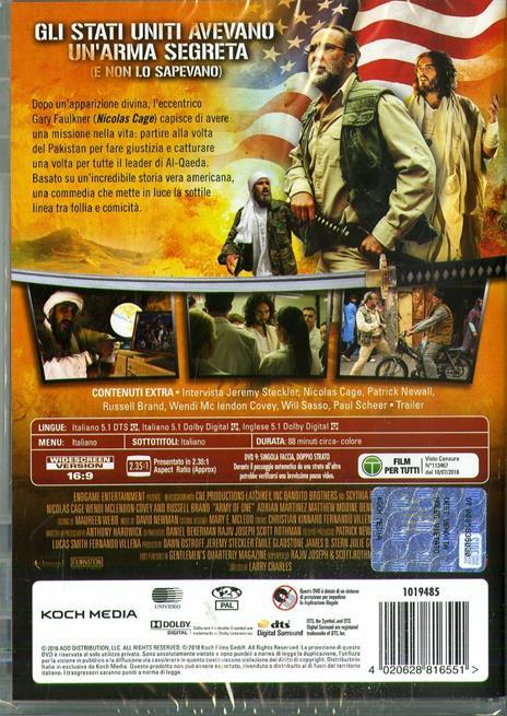 Io, Dio e Bin Laden (DVD) di Larry Charles - DVD - 2