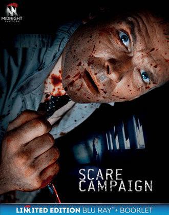 Scare Campaign. Edizione limitata con Booklet (Blu-ray) di Cameron Cairnes,Colin Cairnes - Blu-ray
