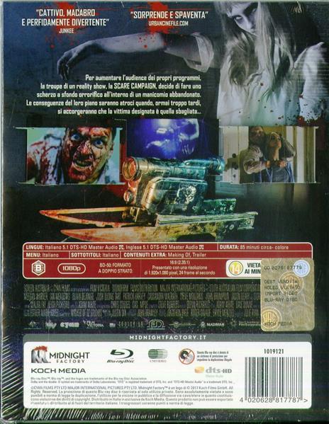 Scare Campaign. Edizione limitata con Booklet (Blu-ray) di Cameron Cairnes,Colin Cairnes - Blu-ray - 2