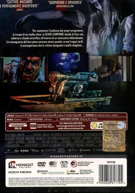 Scare Campaign. Edizione limitata con Booklet (DVD) di Cameron Cairnes,Colin Cairnes - DVD - 2