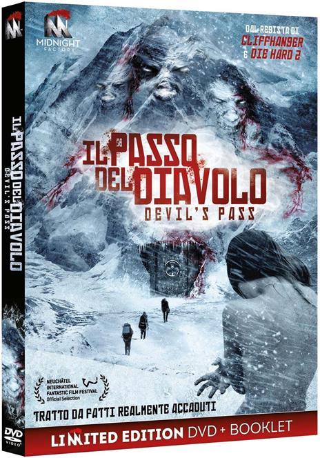 Il passo del Diavolo. Devil's Pass. Limited Edition (DVD) di Renny Harlin - DVD