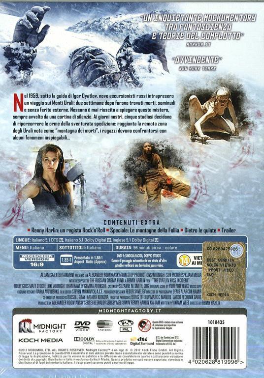 Il passo del Diavolo. Devil's Pass. Limited Edition (DVD) di Renny Harlin - DVD - 2