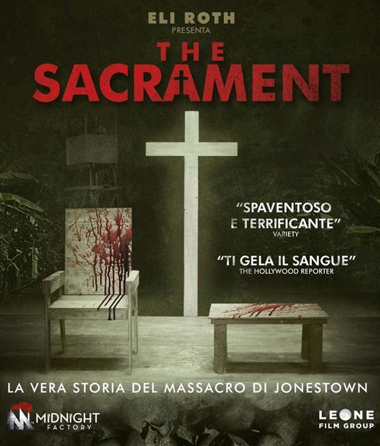 The Sacrament di Ti West - Blu-ray