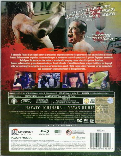 Yakuza Apocalypse. Edizione limitata con Booklet (Blu-ray) di Takashi Miike - Blu-ray - 2