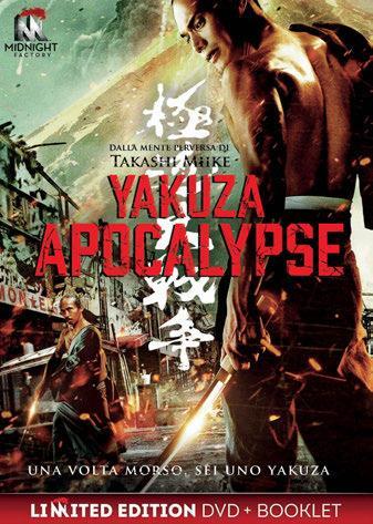 Yakuza Apocalypse. Edizione limitata con Booklet (DVD) di Takashi Miike - DVD
