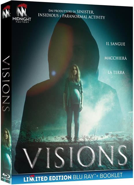 Visions. Edizione limitata. Con Booklet (Blu-ray) di Kevin Greutert - Blu-ray