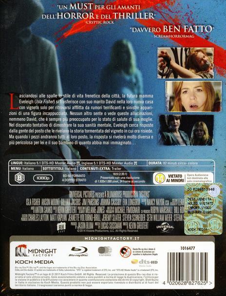 Visions. Edizione limitata. Con Booklet (Blu-ray) di Kevin Greutert - Blu-ray - 2