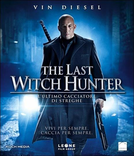 The Last Witch Hunter. L'ultimo cacciatore di streghe di Breck Eisner - Blu-ray