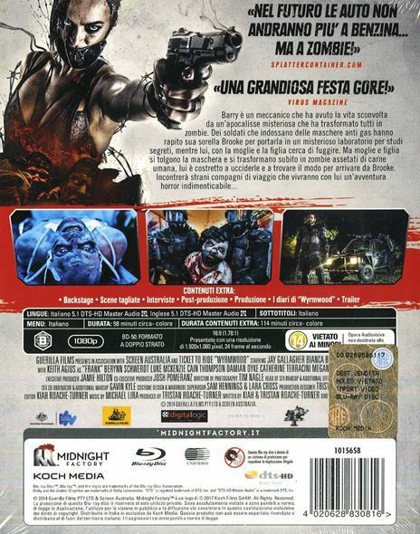 Road Of The Dead. Wyrmwood. Limited Edition (2 Blu-ray)<span>.</span> Limited Edition di Kiah Roache-Turner - Blu-ray - 2