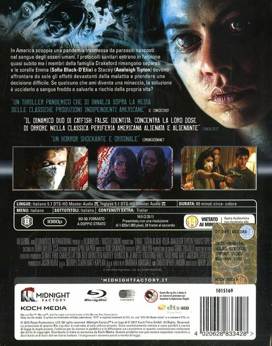 Viral. Limited Edition con Booklet (Blu-ray) di Henry Joost,Ariel Schulman - Blu-ray - 2