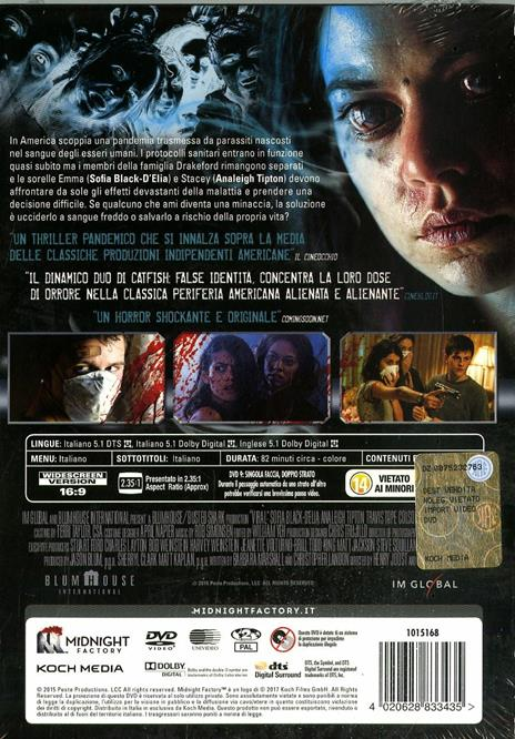 Viral. Limited Edition con Booklet (DVD) di Henry Joost,Ariel Schulman - DVD - 2