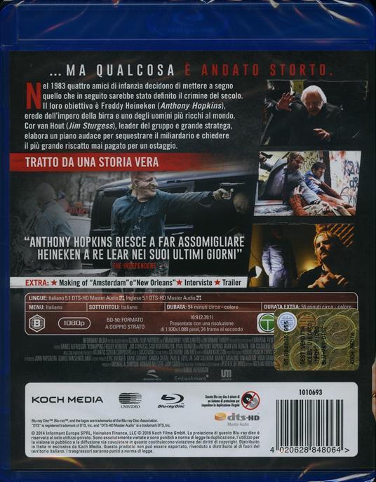 Il caso Freddy Heineken di Daniel Alfredson - Blu-ray - 2