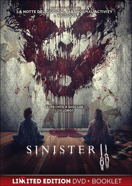 Sinister 2<span>.</span> Edizione limitata di Ciarán Foy - DVD