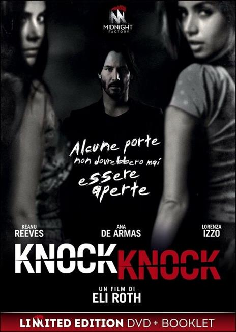 Knock Knock<span>.</span> Limited Edition di Eli Roth - DVD