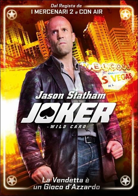 Joker. Wild Card di Simon West - DVD