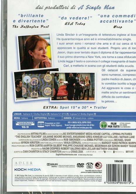 The English Teacher di Craig Zisk - DVD - 3