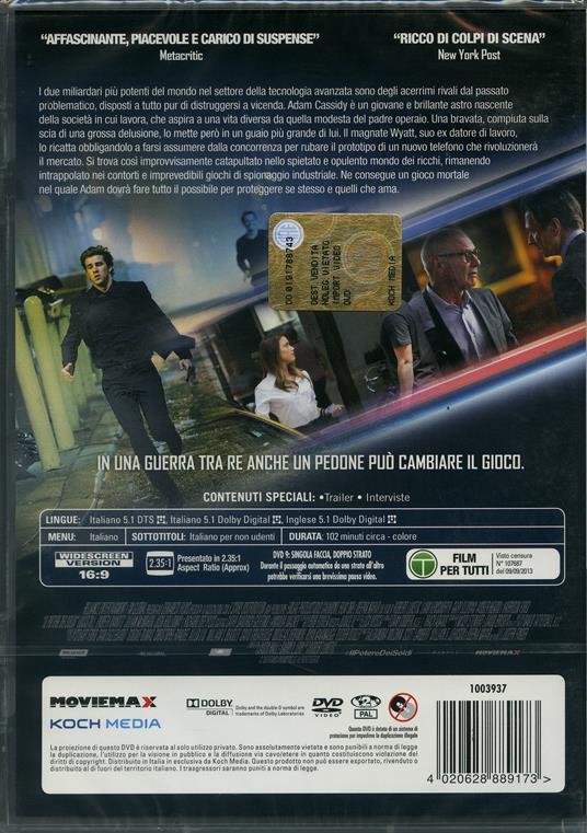 Il potere dei soldi di Robert Luketic - DVD - 2