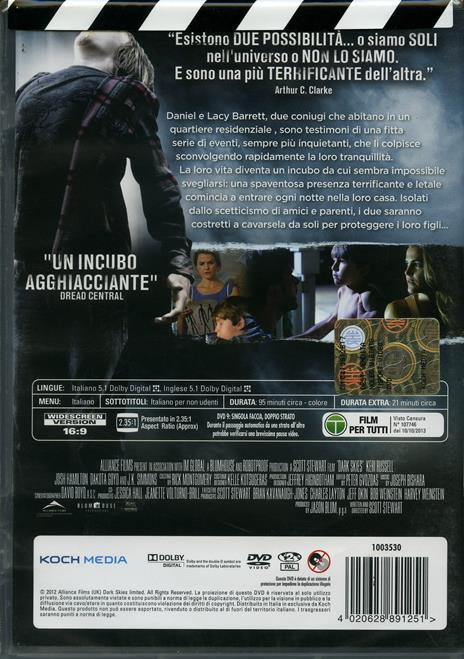 Dark Skies. Oscure presenze di Scott Stewart - DVD - 2