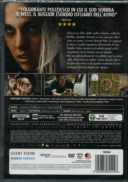 Salvo di Fabio Grassadonia,Antonio Piazza - DVD - 2