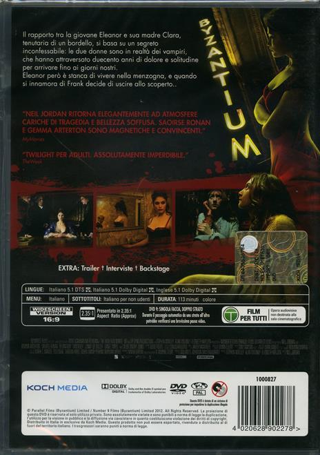 Byzantium di Neil Jordan - DVD - 2