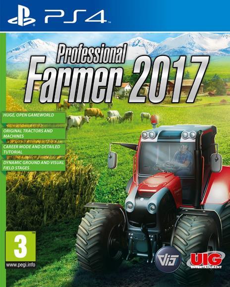 UIG Entertainment Professional Farmer 2017, PlayStation 4 videogioco Basic