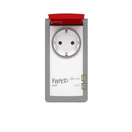 AVM FRITZ! DECT 210 International - Presa intelligente per casa e giardino, Smart Home, programmabile e controllabile via Internet, interfaccia in italiano - 2