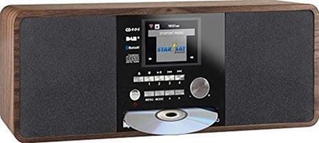 REHAU IMPERIAL DABMAN i200 CD Digitale 20W Noce radio CD