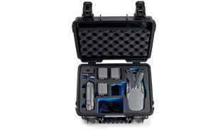 B&W 3000/B/MAVIC2V2 custodia per drone con telecamera Valigetta ventiquattrore Nero Polipropilene (PP) - 2