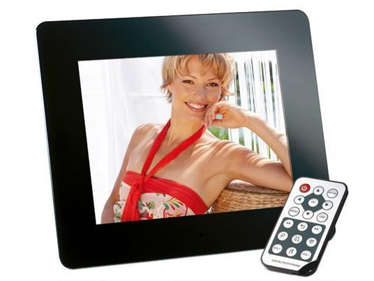 """Intenso 8"""" MediaDirector cornice per foto digitali 20,3 cm (8"""") Nero - 2"""