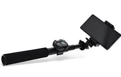 InLine 48090 Universale Nero bastone per selfie